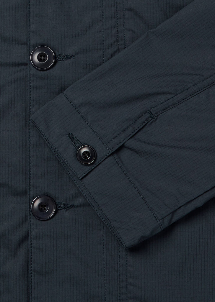 Cotton Ripstop Rail Jacket in Navy