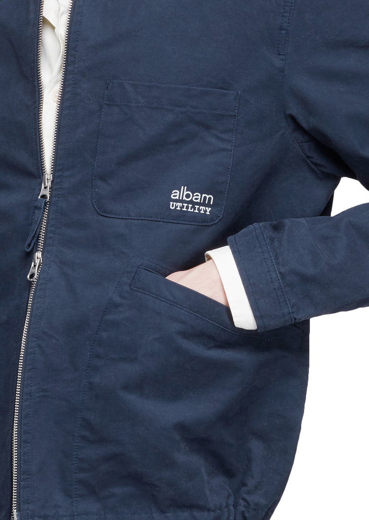 Utility Canvas Harrington in Navy