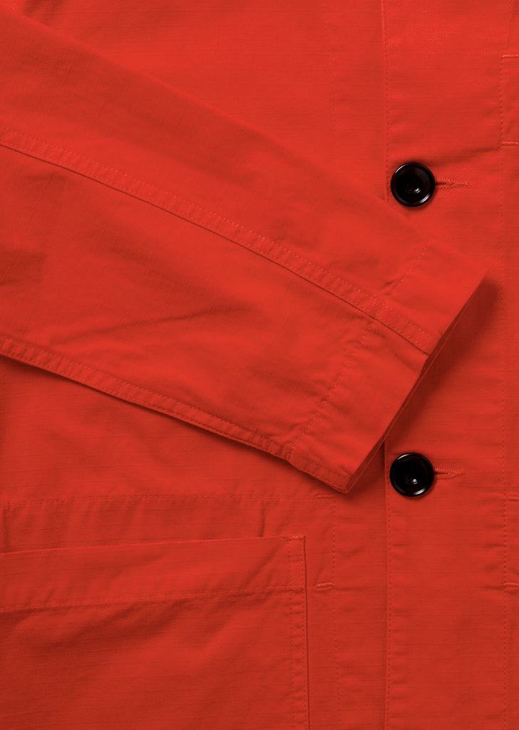 Gd Ripstop Rail Jacket in Red