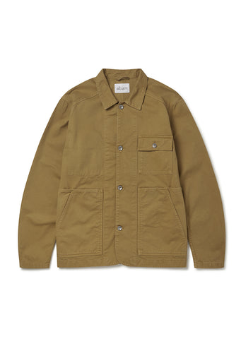 Gd Twill Carpenters Jacket in Tobacco