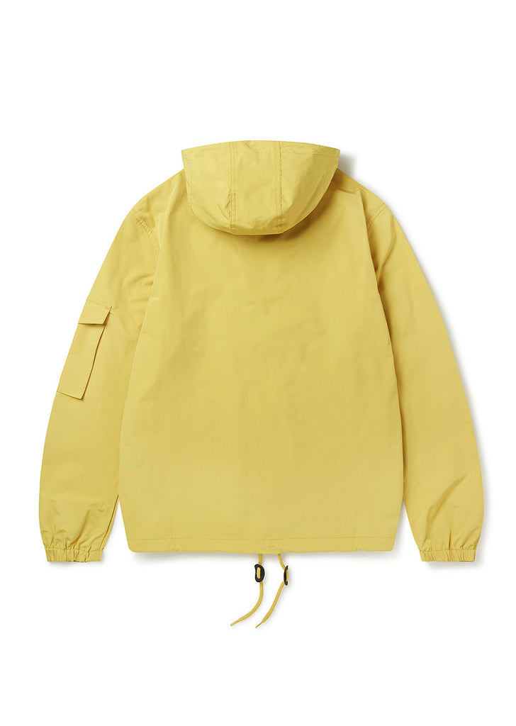 Drift Nylon Parka in Mustard Yellow