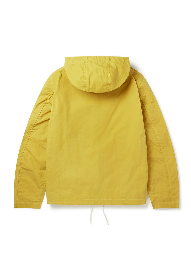 Canvas Storm Cagoule in Yellow