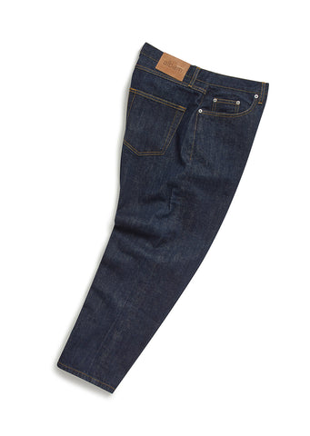 Japanese Denim Taper Fit Jean in Indigo