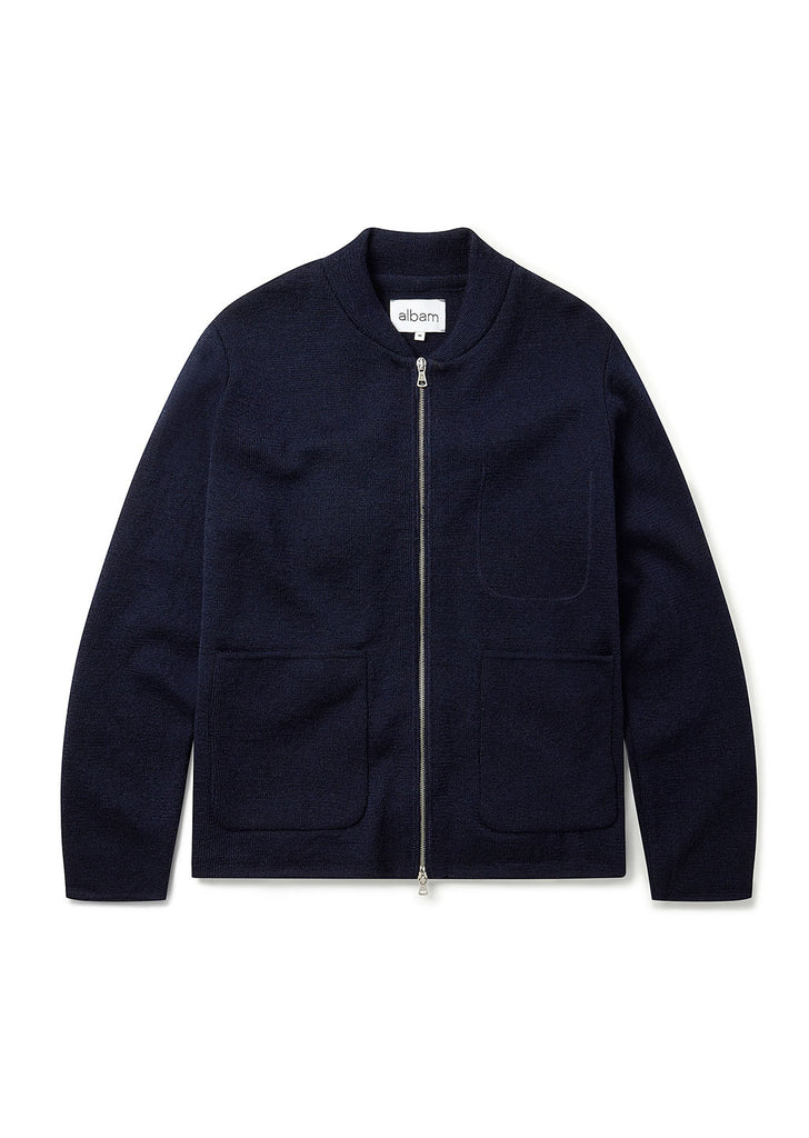 Milano Bomber in Navy