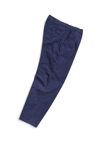 Pleat Trouser in Navy