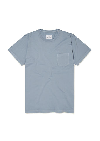 Pocket T-Shirt in Stonewash