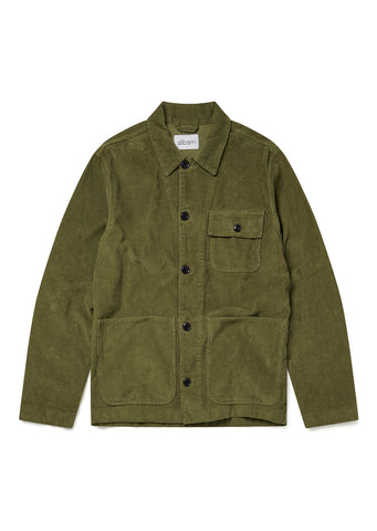 Railroad Work Jacket in Dark Olive