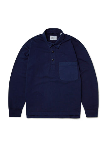 Rugby Shirt in Navy