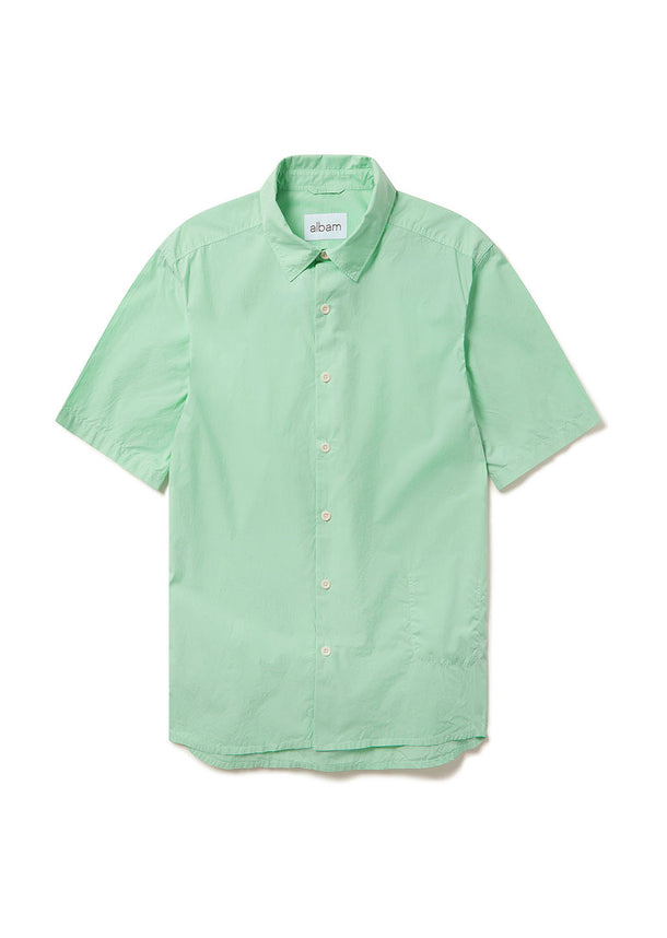 Rooke Shirt in Faded Jade