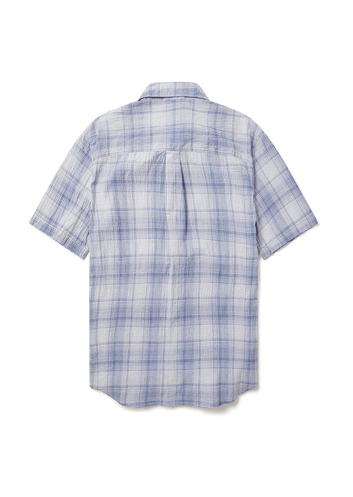 Rooke Shirt in Blue Check