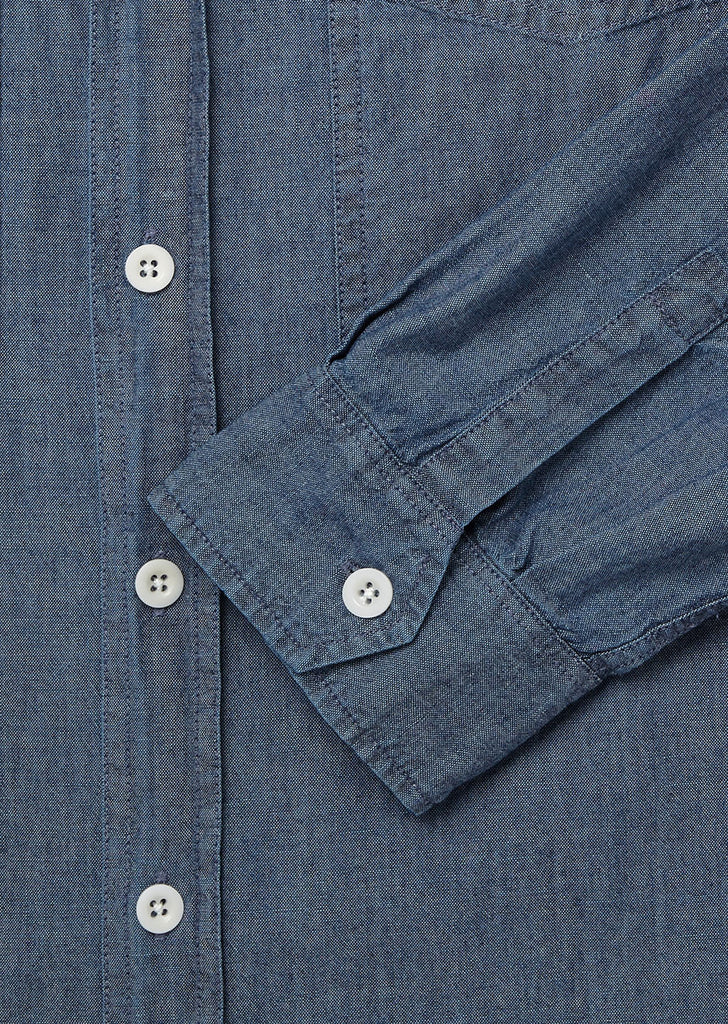 Carpenters Overshirt in Indigo