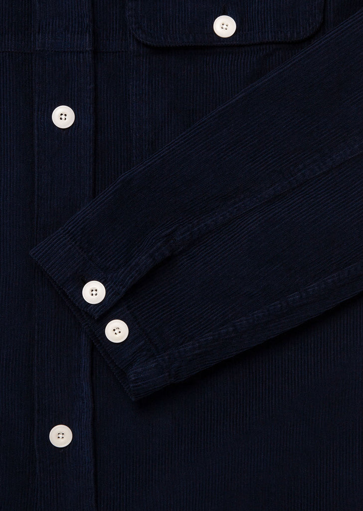 Gd Cord Shirt in Navy