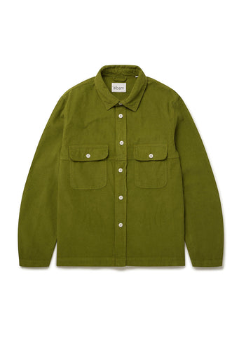 Gd Cord Shirt in Fir
