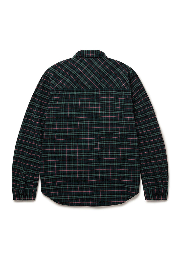 Craft Shirt in Green Check