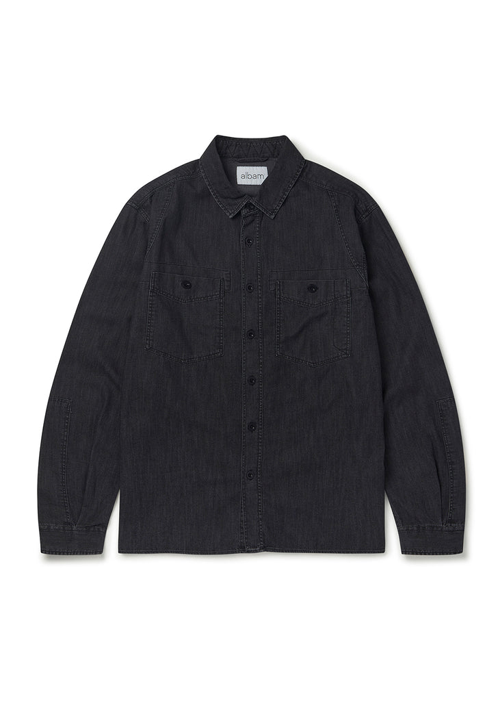 Carpenters Work Shirt in Black