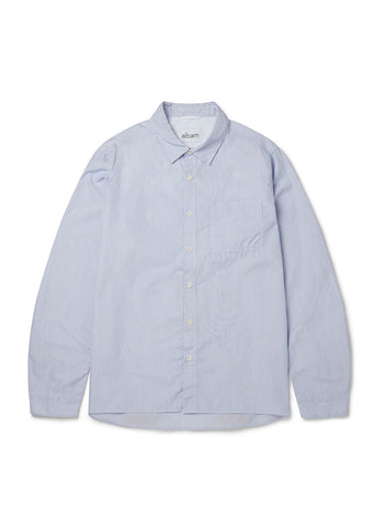 Hockney Shirt in Blue White