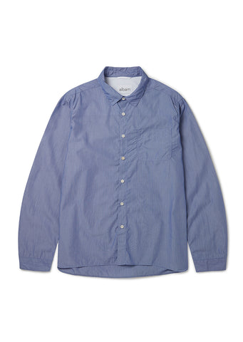 Hockney Shirt in Dark Blue Stripe