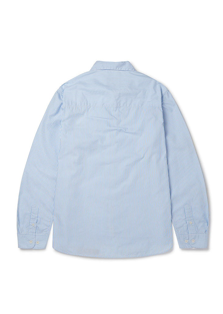 Hockney Shirt in Light Blue White