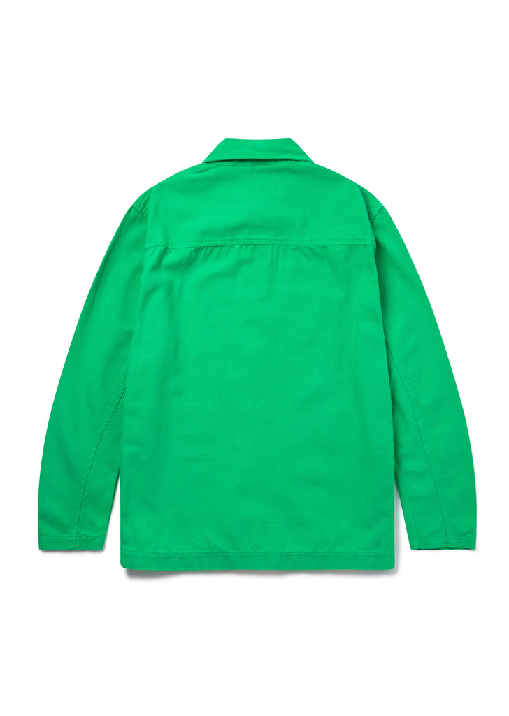 Foundry Shirt in Bright Green