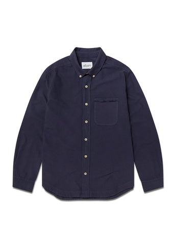 Vintage Button Down Oxford Shirt in Navy