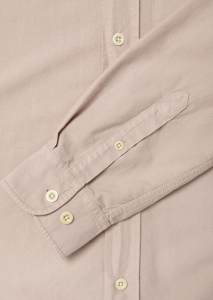 Vintage Button Down Oxford Shirt in Zephyr Pink