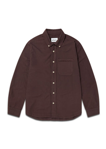 Vintage Button Down Oxford Shirt in Port