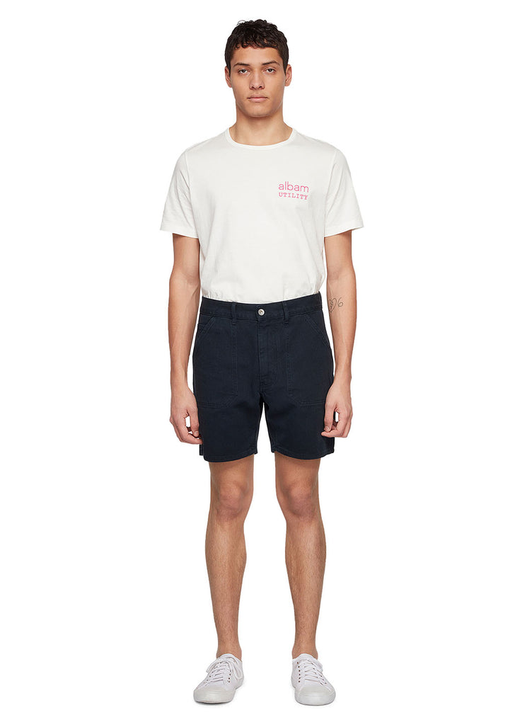 Utility Loose Fit Short in Navy