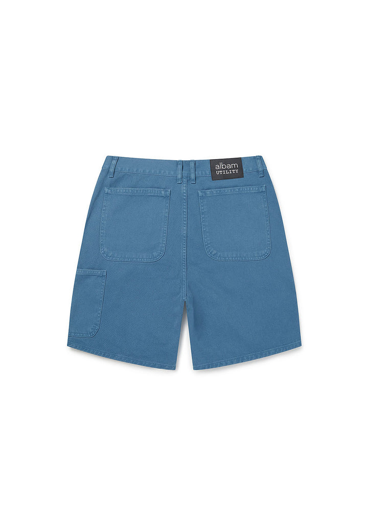 Utility Loose Fit Short in Blue