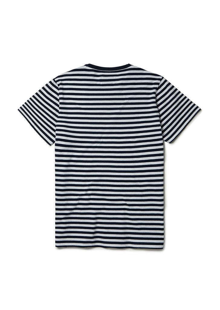 Simple Stripe T Shirt in Navy