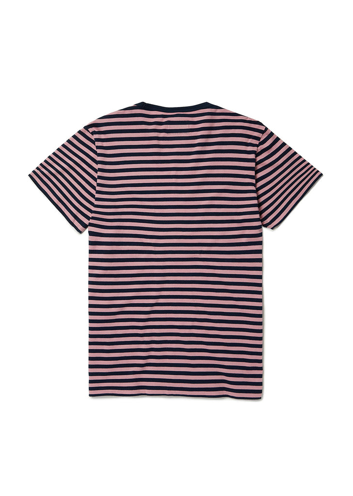Simple Stripe T Shirt in Dusty Cedar