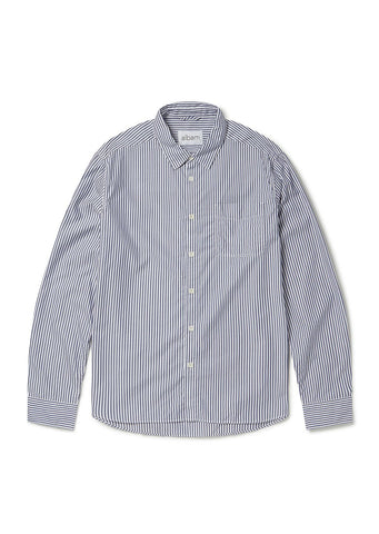 d2c8e9168e Stripe Hockney Shirt in Blue