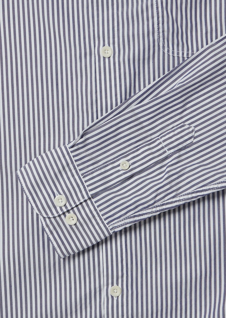 Stripe Hockney Shirt in Blue