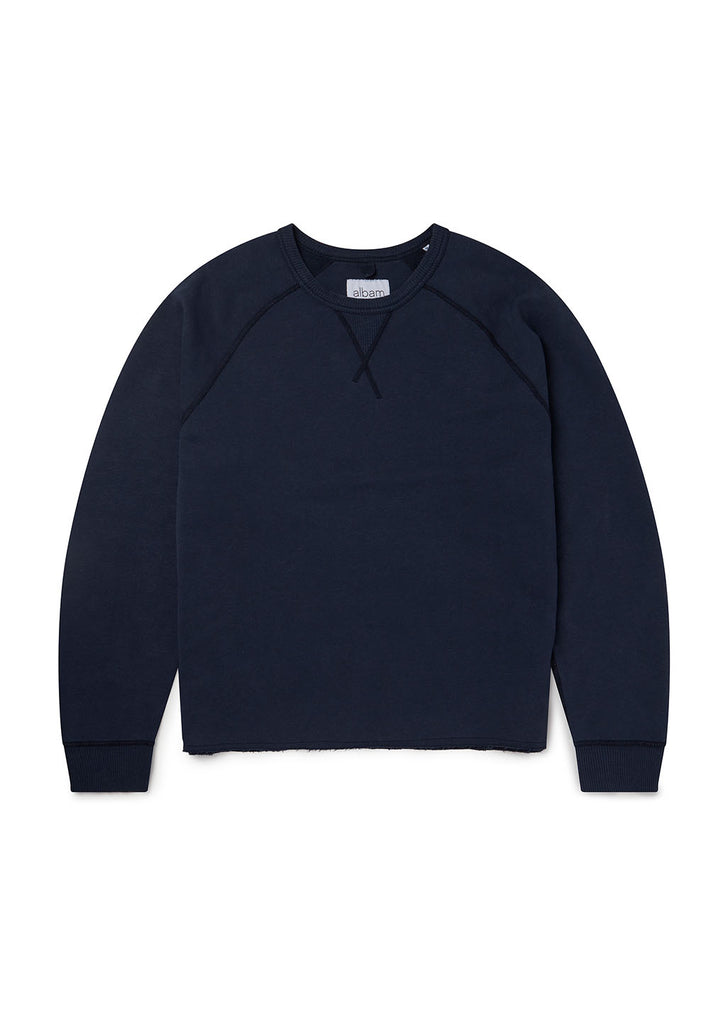 Hemp LS Sweatshirt in Navy