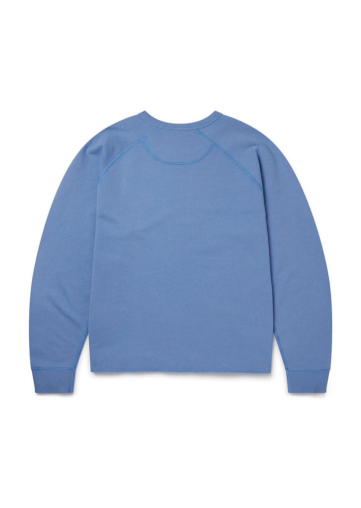 Hemp LS Sweatshirt in Light Blue