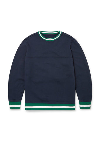 Soulby Sweatshirt in Navy