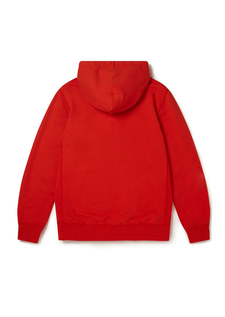 Hooded Sweatshirt in Red