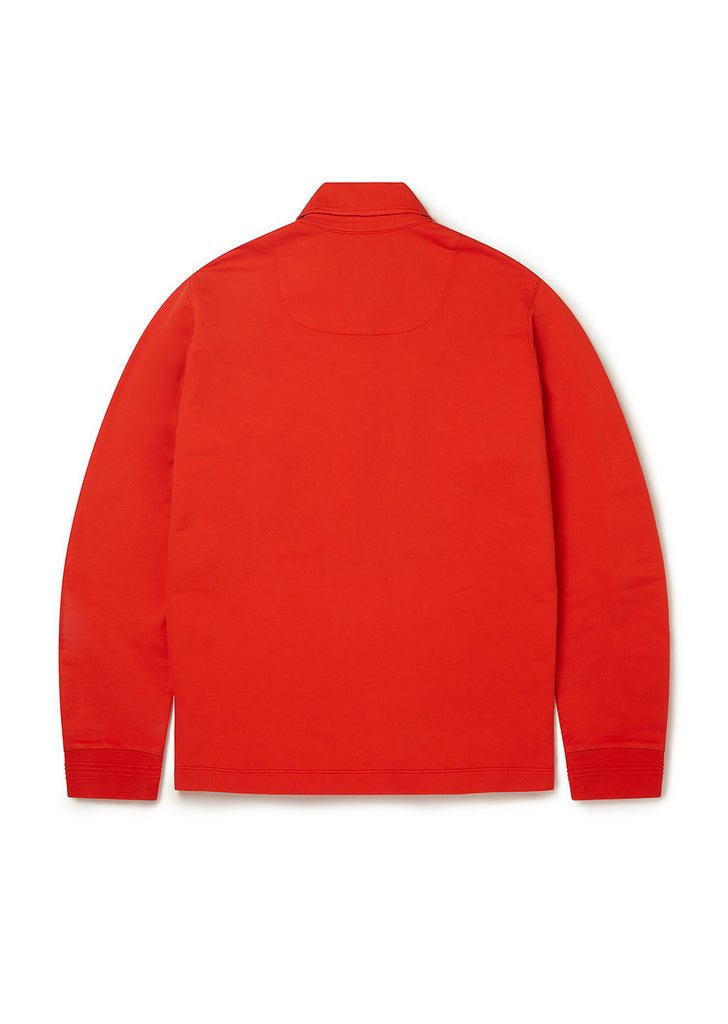 Quarter Zip Pullover in Orange