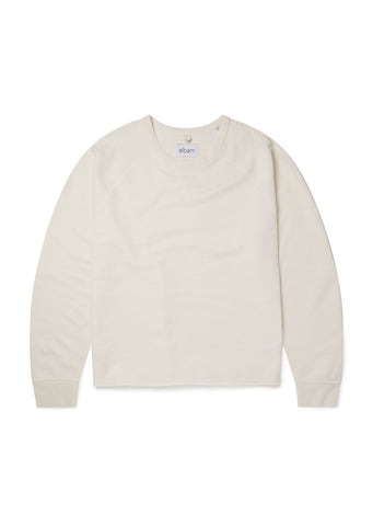 Hemp LS Sweatshirt in Ecru