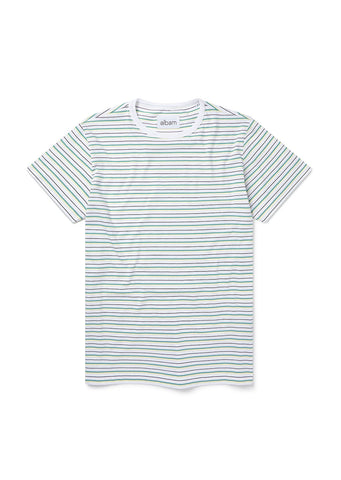 Nara Stripe T-Shirt in White