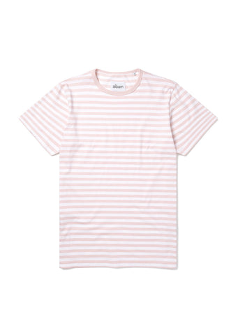 Simple Stripe T-Shirt in Pink