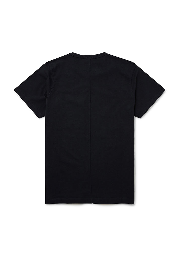Nylon Pocket T-Shirt in Black