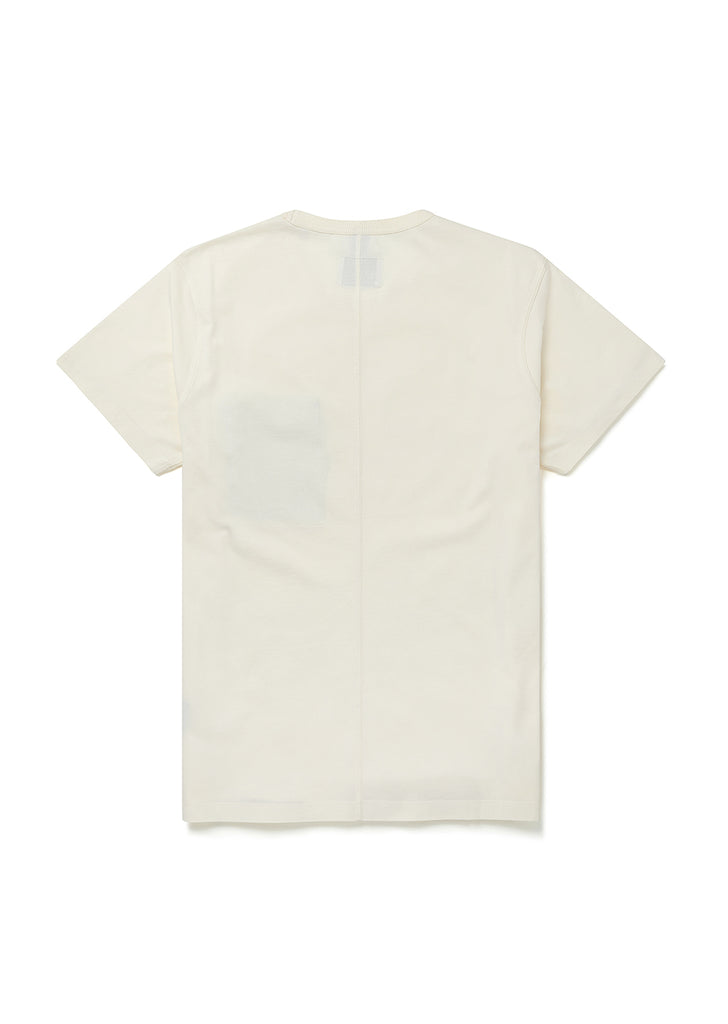 Nylon Pocket T-Shirt in Ecru