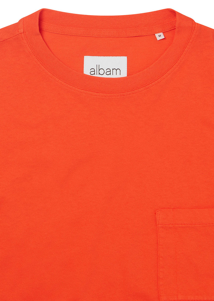 Workwear Short Sleeve Tee in Red