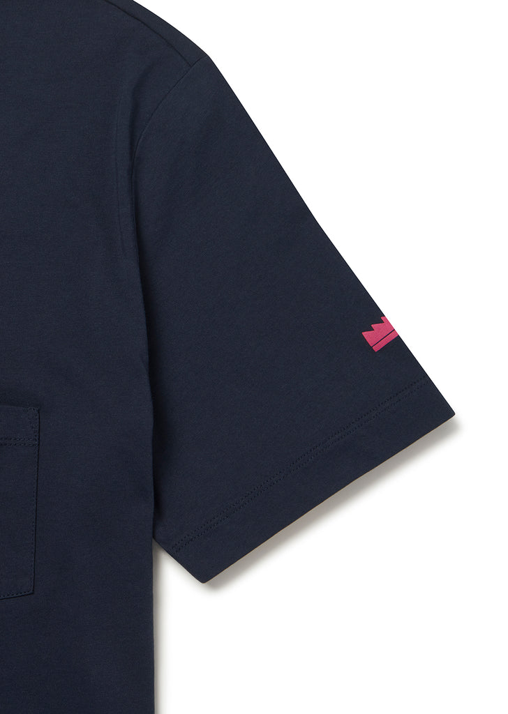 Utility Pocket T-Shirt in Navy