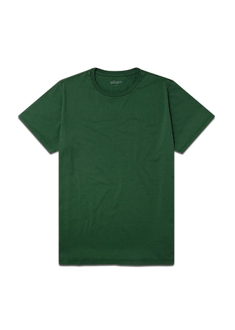 Classic T-Shirt In Bottle Green