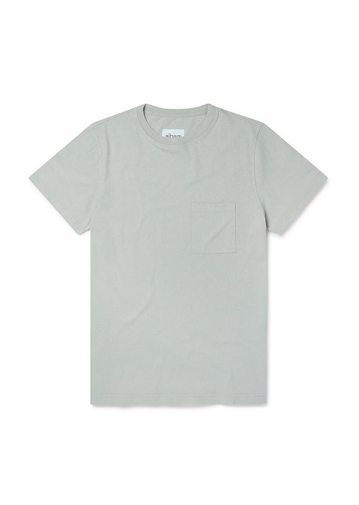 Workwear T-Shirt in Stone Grey