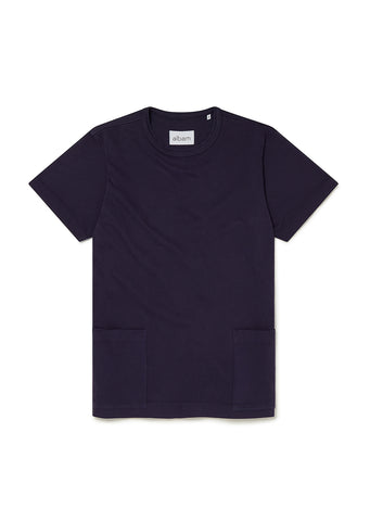 Patch T-Shirt in Rich Navy