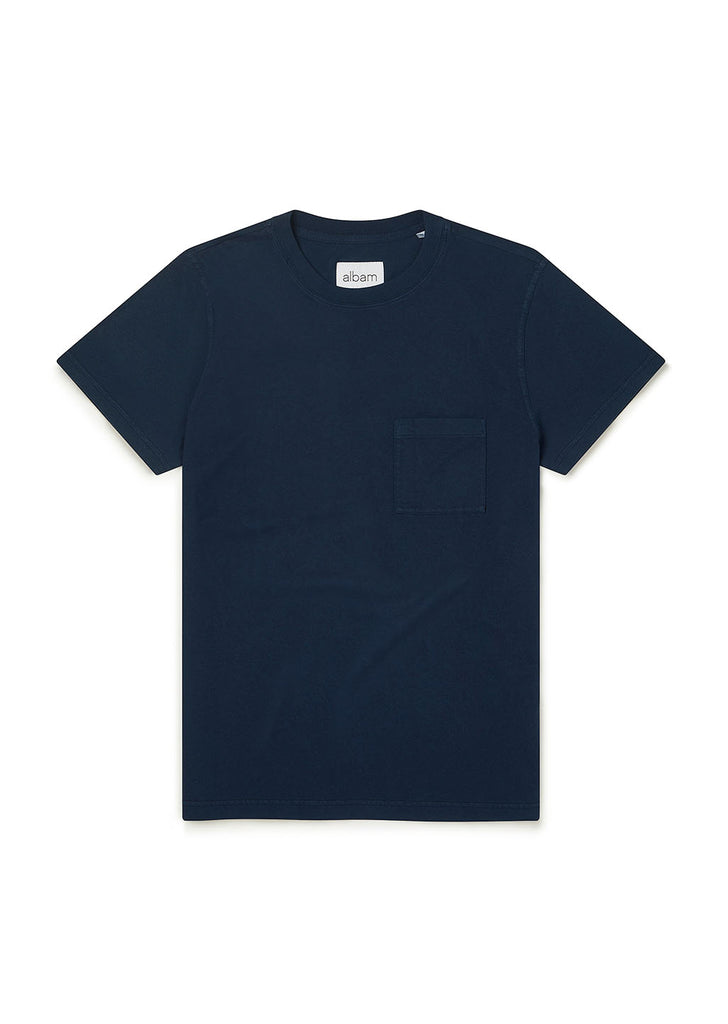 Workwear Short Sleeve Tee in Navy