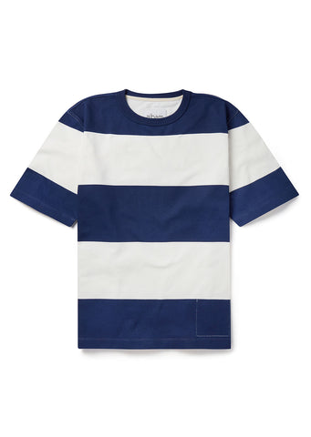 Knox T-Shirt in Navy/White