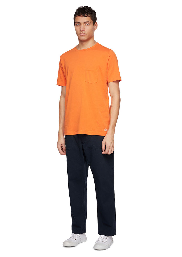 Utility Pocket T-Shirt in Orange